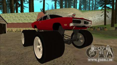 Dodge Charger 1969 Monster Edition pour GTA San Andreas