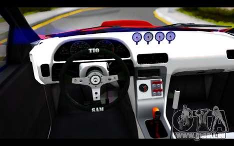Chevrolet Optra 2007 pour GTA San Andreas vue de droite