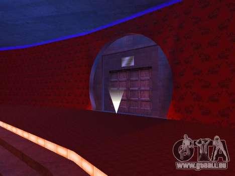 Cachés dans les intérieurs de la casino les Quat pour GTA San Andreas