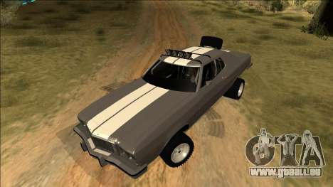 Ford Gran Torino Rusty Rebel pour GTA San Andreas salon