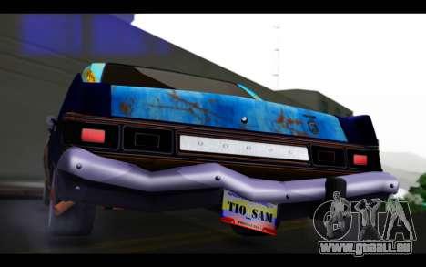 Dodge Dart 1975 v2 Estilo Rusty pour GTA San Andreas vue intérieure