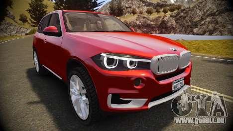 BMW X5 2014 pour GTA 4 est un droit