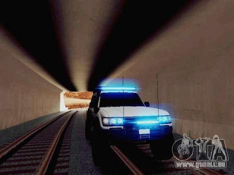 NEW Particle XENON-HID pour GTA San Andreas deuxième écran