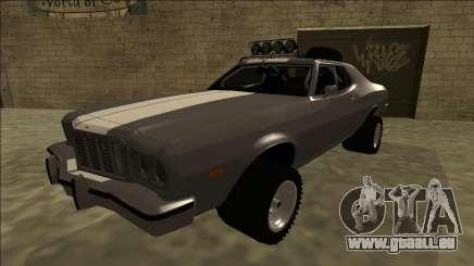 Ford Gran Torino Rusty Rebel für GTA San Andreas
