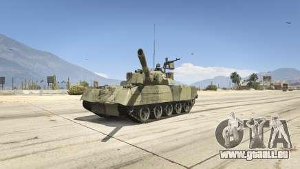 T-80U pour GTA 5