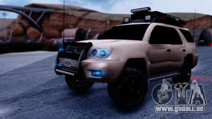 Toyota 4runner 2009 Full Off-Road für GTA San Andreas