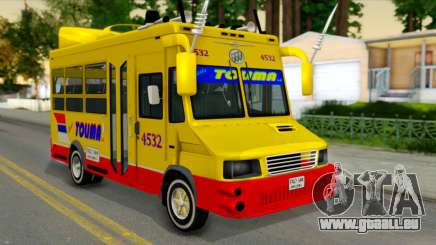 Iveco Turbo Daily Buseton pour GTA San Andreas