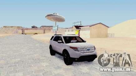 Ford Explorer 2013 Semi-Tuning pour GTA San Andreas