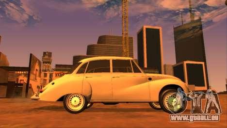 DKW-Vemag Belcar 1001 1964 pour GTA San Andreas laissé vue