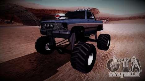 Rancher Monster Truck für GTA San Andreas
