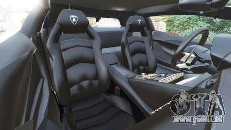 GTA 5 Lamborghini Aventador LP700-4 [LibertyWalk] v1.0 rechte Seitenansicht