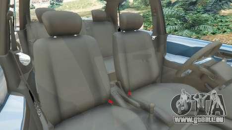 GTA 5 Suzuki Liana droite vue latérale