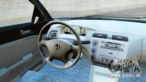 Honda Civic Vtec 2 für GTA San Andreas zurück linke Ansicht