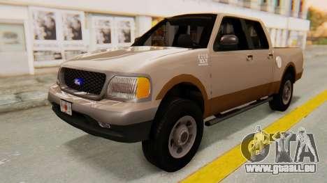 Ford F-150 2001 pour GTA San Andreas vue de droite