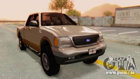 Ford F-150 2001 für GTA San Andreas