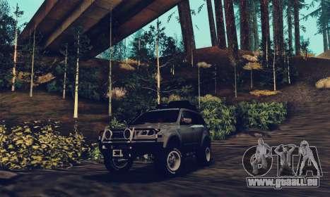 Subaru Forester 2008 Off Road für GTA San Andreas rechten Ansicht