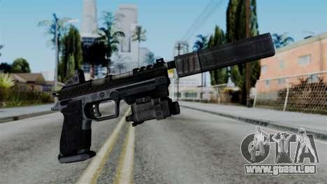 CoD Black Ops 2 - B23R Silenced für GTA San Andreas
