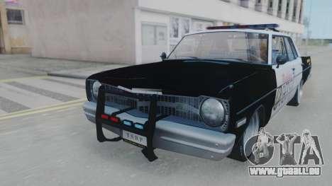 Dodge Dart 1975 v3 Police pour GTA San Andreas