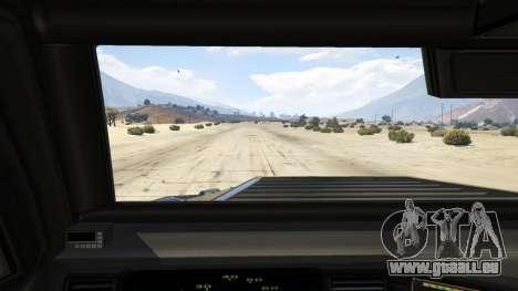 GTA 5 LAPD SWAT Insurgent vue arrière