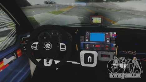 Volkswagen Transporter TDI pour GTA San Andreas vue de droite