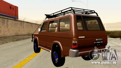 Toyota Kijang Grand Extra Off-Road für GTA San Andreas linke Ansicht