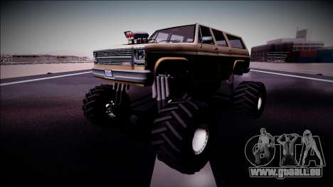 Rancher XL Monster Truck pour GTA San Andreas