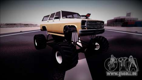 Rancher XL Monster Truck für GTA San Andreas linke Ansicht