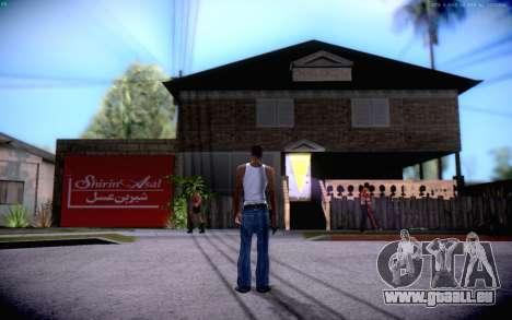 New CJ Home pour GTA San Andreas deuxième écran