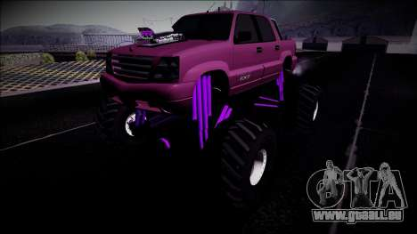 GTA 4 Cavalcade FXT Monster Truck pour GTA San Andreas