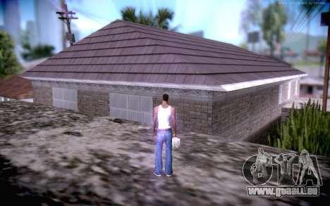 New CJ Home pour GTA San Andreas troisième écran