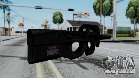 P90 pour GTA San Andreas deuxième écran