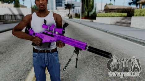 Purple Sniper pour GTA San Andreas troisième écran