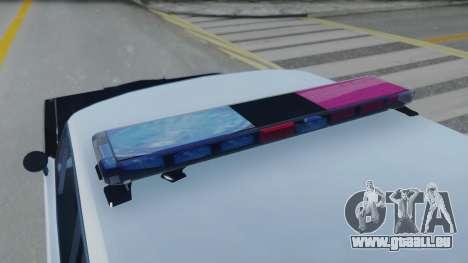 Dodge Dart 1975 v3 Police für GTA San Andreas Rückansicht