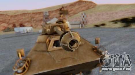 Ratel 90 pour GTA San Andreas vue arrière