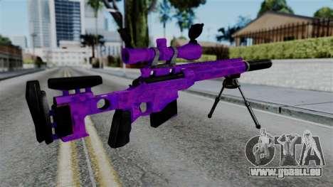 Purple Sniper pour GTA San Andreas deuxième écran