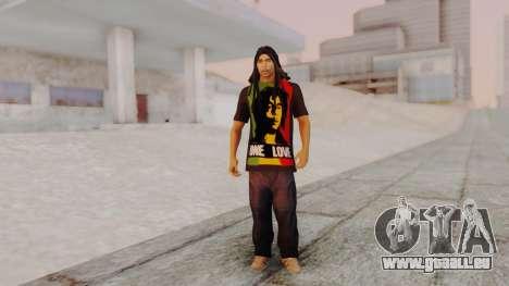 Bob Marley pour GTA San Andreas deuxième écran