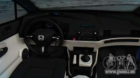 Honda Mugen FD6 für GTA San Andreas Rückansicht