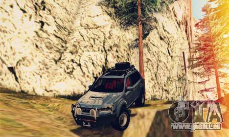 Subaru Forester 2008 Off Road pour GTA San Andreas