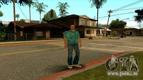 Tommy Vercetti pour GTA San Andreas cinquième écran