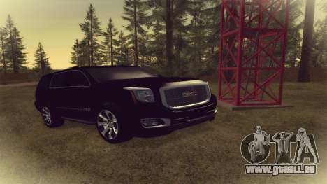 GMC Yukon 2015 pour GTA San Andreas