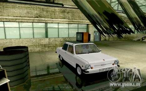 ZAZ 968 pour GTA San Andreas vue arrière