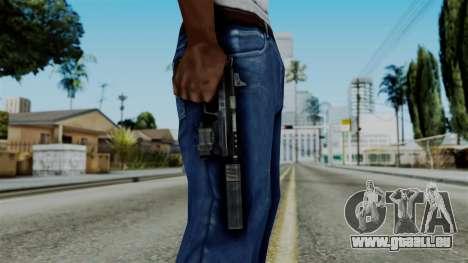 CoD Black Ops 2 - B23R Silenced für GTA San Andreas dritten Screenshot