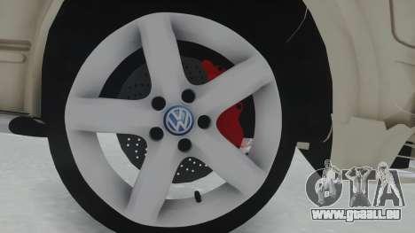 Volkswagen Transporter TDI für GTA San Andreas Rückansicht