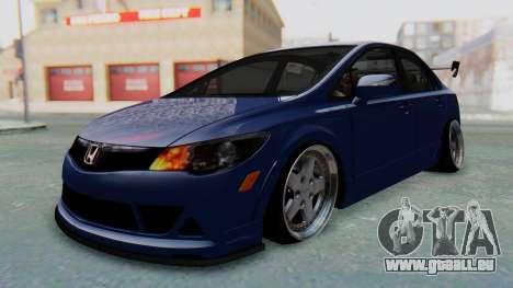 Honda Mugen FD6 für GTA San Andreas rechten Ansicht