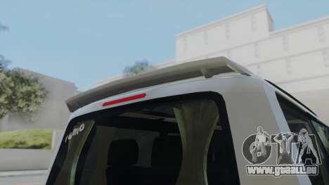 Volkswagen Transporter TDI pour GTA San Andreas sur la vue arrière gauche