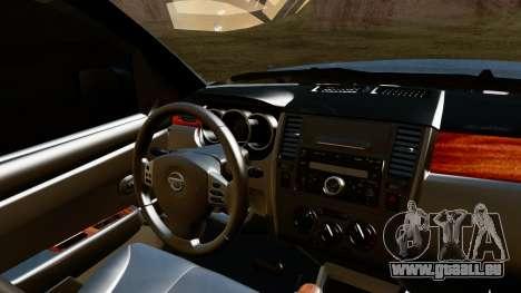 Nissan Frontier PRO-4X 2014 pour GTA San Andreas vue de droite