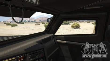 GTA 5 LAPD SWAT Insurgent arrière droit vue de côté