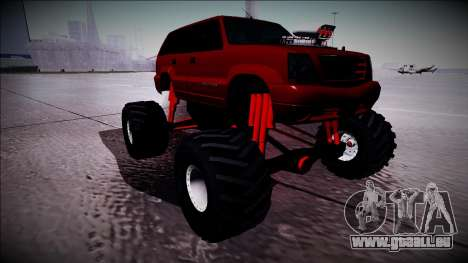 GTA 4 Cavalcade Monster Truck pour GTA San Andreas