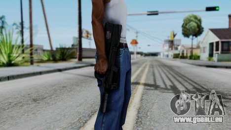 P90 für GTA San Andreas dritten Screenshot