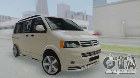 Volkswagen Transporter TDI für GTA San Andreas